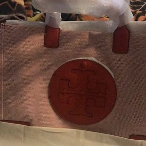 Tory  Burch canvas handbag